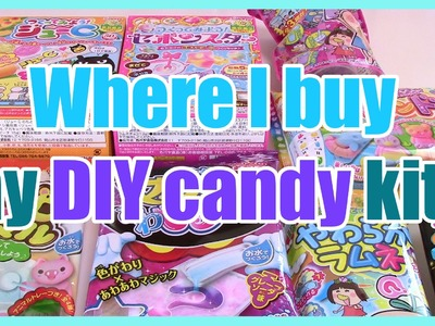 DIY Candy Haul & Where I Buy!