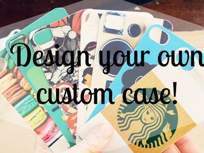 DIY: Design Custom iPhone Cases!