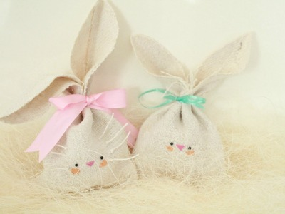 DIY: Easy Easter Gift Idea - Bunny Treat Bag ● HD