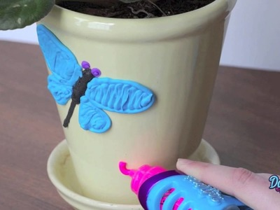 DIY Flower Planter for Kids (Arts & Crafts) | DohVinci toys by the makers of Play-Doh brand