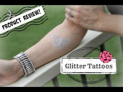 DIY Glitter Flash Tattoo | ShowMeCute