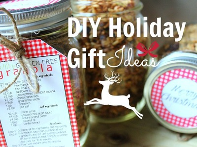 DIY Holiday Gift Ideas ❄ Easy + Affordable Gifts!