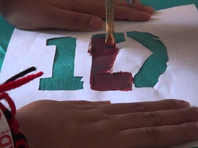 DIY How To Make 1D T-Shirt