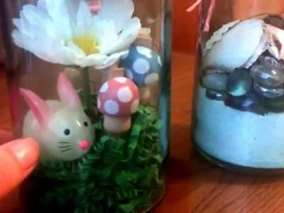 DIY mason jar projects using items from Dollar Tree, Target, and Daiso Hauls