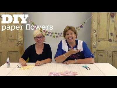 DIY Paper Flowers with Jenny Doan from Missouri Star Quilt Co!