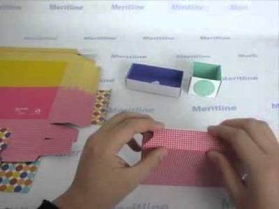 DIY Paper Storage Box, Contains 7 Boxes @ Meritline (#414-285)