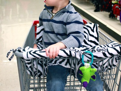 DIY: Super Simple Shopping Cart Cover