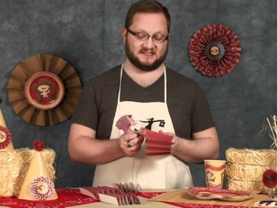 Do It Yourself Paper Rosettes - Craft Time With Alan - Big Dot of Happiness