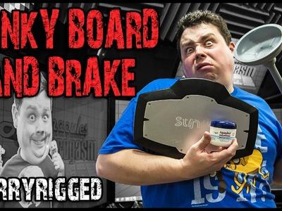 Drifting Handbrake Racing Simulator DIY : Stinkyboard, Toilet Plunger & Vasoline