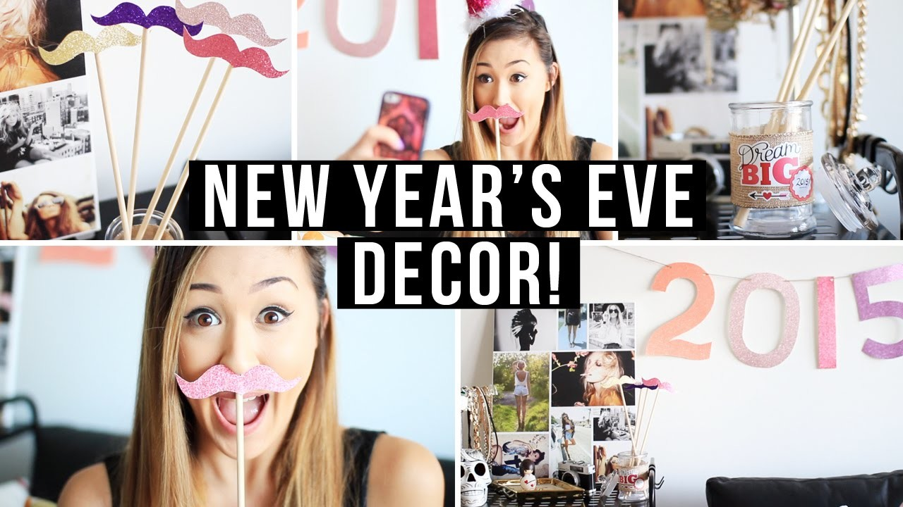Easy DIY New Year's Eve Party Room Decor & Accessories! | LaurDIY