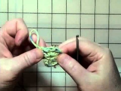Easy Video Crochet Springtime Coasters - Part 1 and 2
