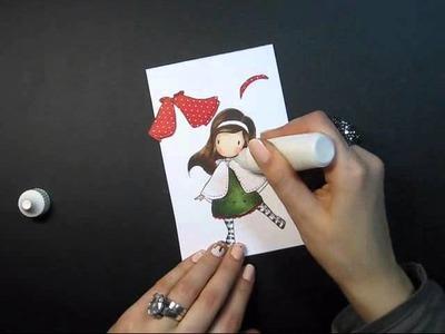 Gorjuss Happy Holidays Card