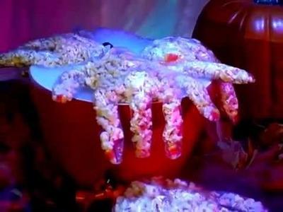 Horr-edible Hands Popcorn Treat   Halloween   Babble