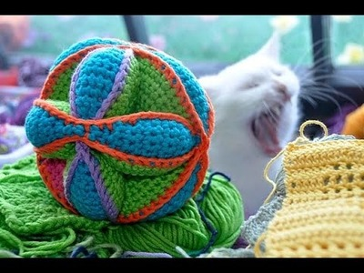 How to Crochet * Amish Puzzle Toy * Part 1