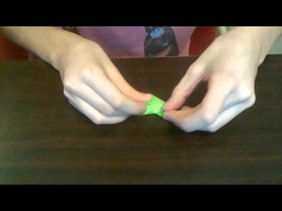 How to make a small origami heart