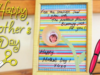 How to Make Mother's Day Photo Frame |  Mother's Day Crafts | Mother's Day Gift Ideas