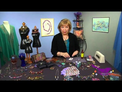 Mixed Media Jewelry Techniques: Free Video on How to Make Resin Jewelry Using Bezels