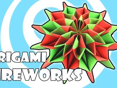 Modular Origami Fireworks Instructions (Yami Yamauchi)
