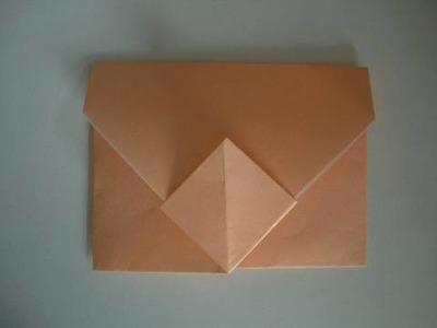 Origami-Instructions: Envelope