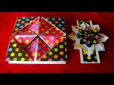 Origami Maniacs 129: Origami Card Made with the Windmill Base