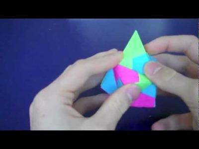 Origami Sonobe Ball 12