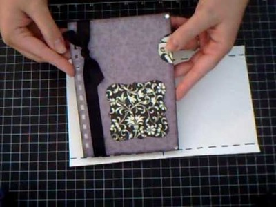 Pocket Page for your Mini Album- Scrapbooking Tutorial