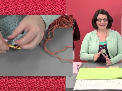 Preview Crochet Finishing Techniques with Robyn Chachula