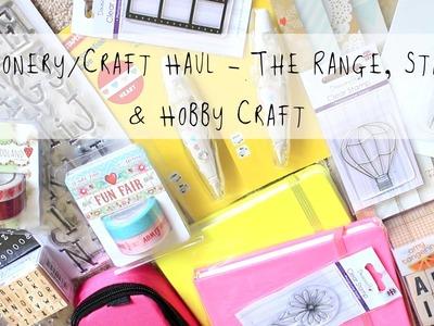 Stationery.Craft Haul | The Range, Staples & Hobby Craft | MyGreenCow