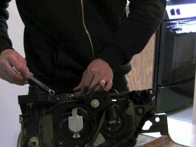 Subaru wrx sti - blacked out headlights - TUTORIAL DIY