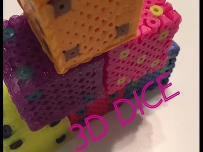 Tutorial-How to Make 3D Perler Bead Dice