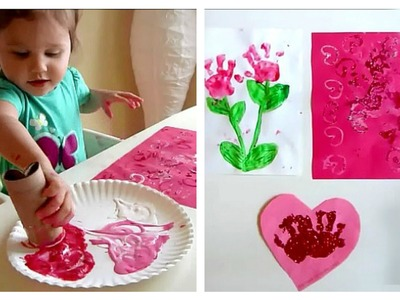 VALENTINE CRAFTS FOR TODDLERS!