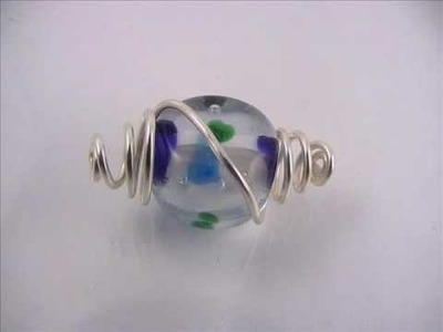 Wire Caged Bead Tutorial by Lorraine Dowdle