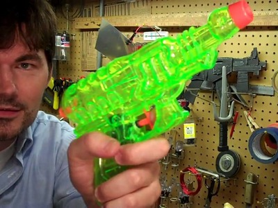 You Wanna Make A Space Ray Gun Movie Prop for Cheap!? DIY RayGun