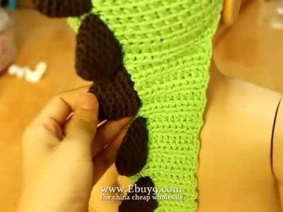 Baby crochet animal hat