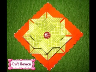 Craft Maniacs 3: Tea bag Folding 3: Rossette