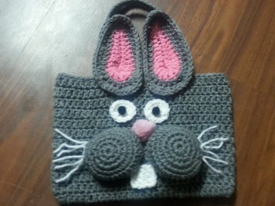 #Crochet Bag - #Crochet Bunny Bag Tutorial