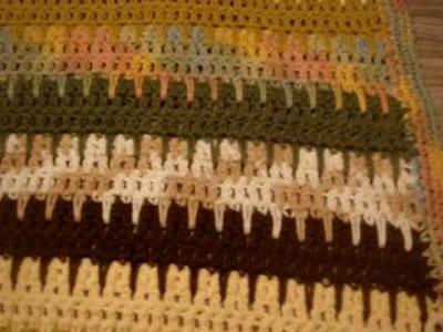 Crochet Blanket_Spike Stitch