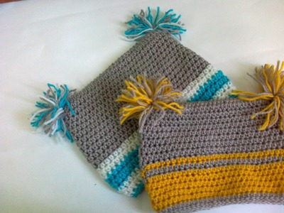 CROCHET SQUARE BABY HAT
