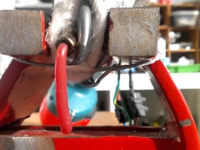 DIY cheapest plastic bottle extruder, recycle milk jugs into filament Part 2