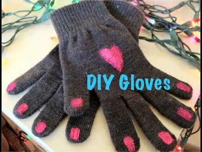 DIY Christmas Gifts: Personalized Gloves