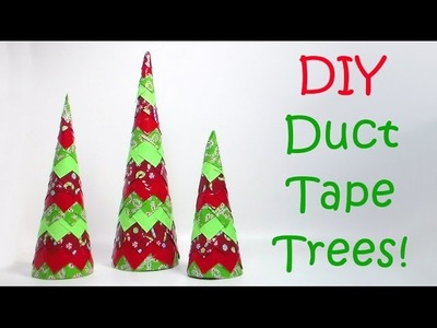 DIY Duct Tape Trees!