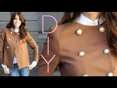 DIY Fashion Jacket Tutorial