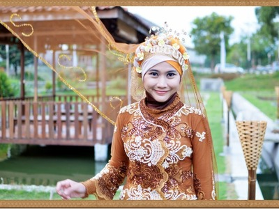 DIY Hijab Paris for Wedding, Party and Graduation by Didowardah - Part #33