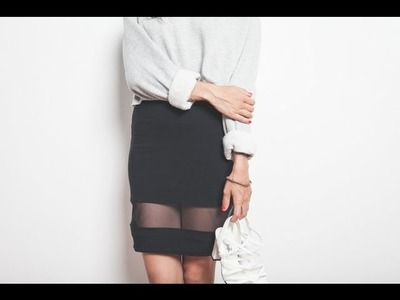 DIY mesh skirt tutorial
