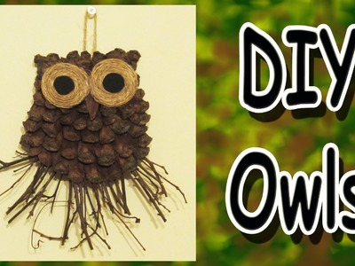 DIY Owl Decoration - A Gift Idea