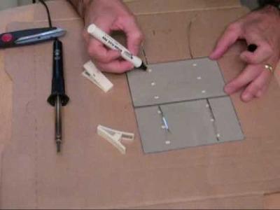 DIY solar panel part 1