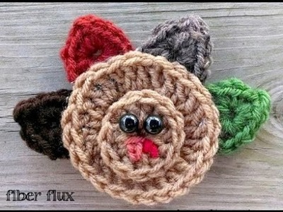 Episode 126: How To Crochet An Easy Turkey Applique
