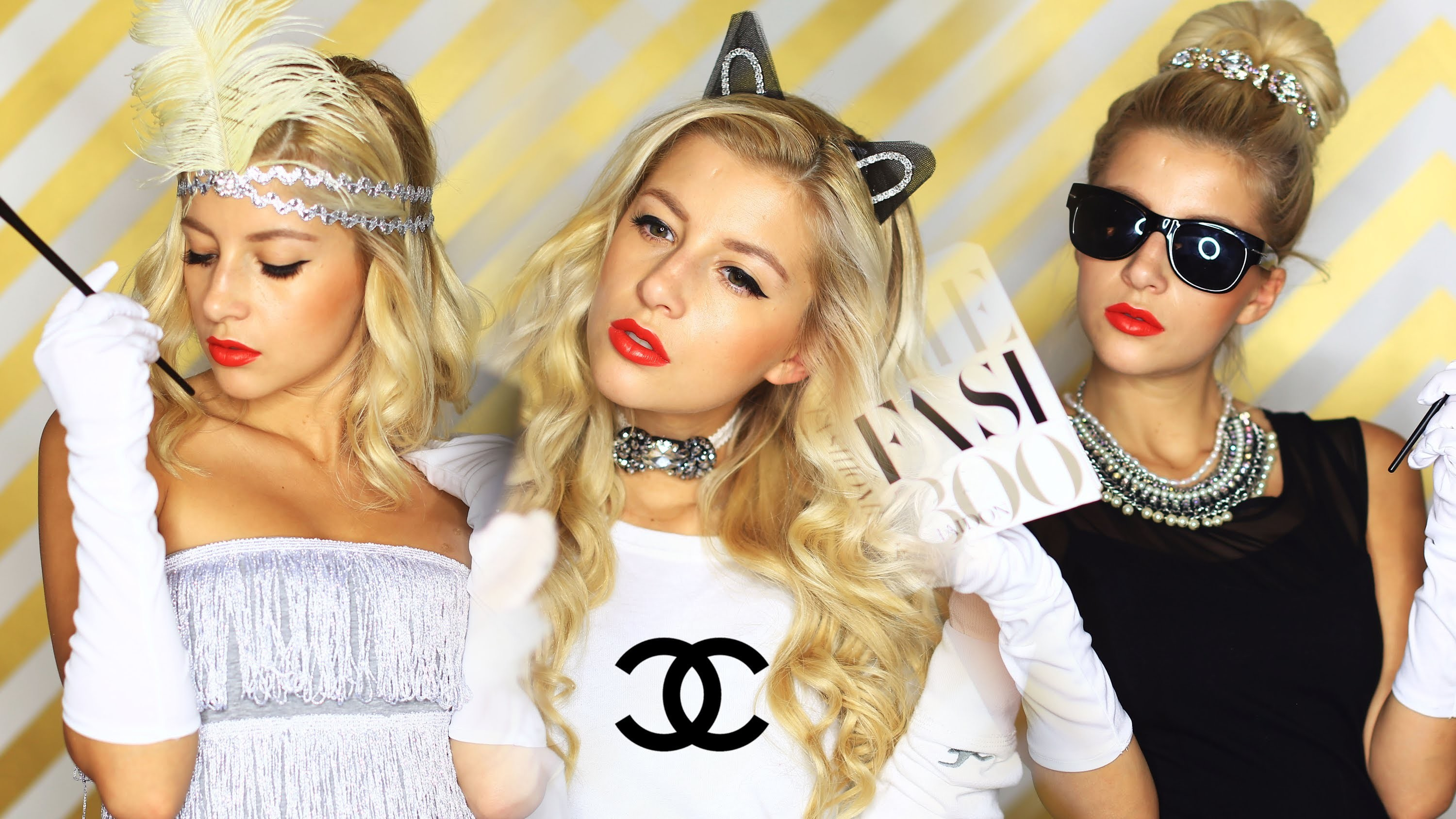 FASHION INSPIRED COSTUMES {DIY}