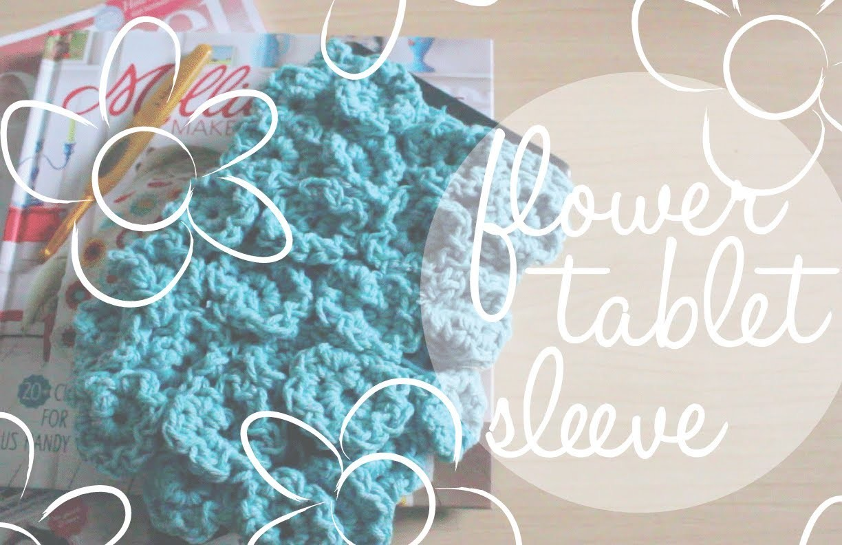 Flower Tablet Sleeve