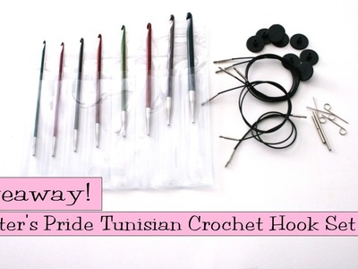 Giveaway! Knitter's Pride Interchangeable Tunisian Crochet Hook Set